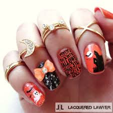 nail art easy halloween nail art for short nails