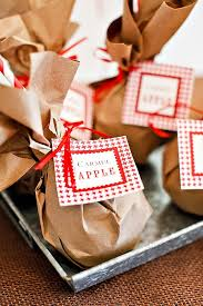 caramel apple party favors apple orchard wedding inspiration apple orchard orchards and favors