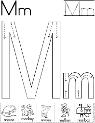 awesome collection of letter m worksheets preschool about summary