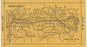 Union Pacific Railroad Map Map Of The Northern Pacific Railroad And Its Connections Cornell