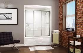 3 piece bathtub shower bathroom design
