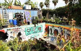 Urban Garden Los Angeles In The Dirt With Ron Finley The Gangsta Gardener
