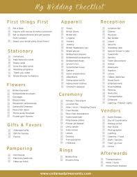 wedding planning checklist wedding plan checklist endo re enhance dental co