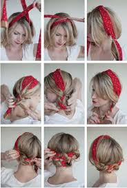 how to wear a bandana with short hair 20 gorgeous scarf hairstyle ideas 2017 on haircuts