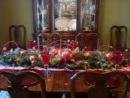 Dining Room Table Decorating by