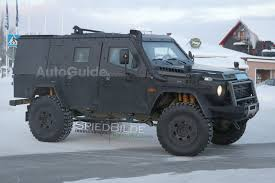 future military jeep mercedes benz is testing a light armored g class