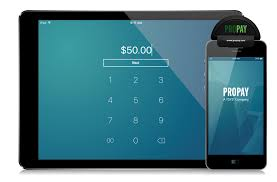 pre pay card mobile credit card payment app propay