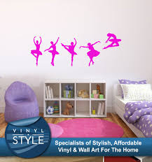 wall decals stickers home decor home furniture diy ballet decal decor sticker wall art graphic various colour