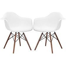 Eames Plastic Armchair Daw Amazon Com Poly And Bark Eames Style Molded Plastic Dowel Leg