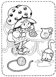 Strawberry Shortcake Coloring Pages Coloring Pages Wallpaper 80s Coloring Pages