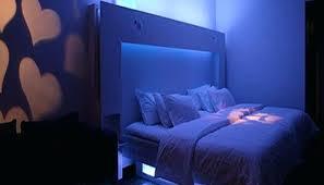 Blue Bedroom Lights Bedroom Blue Lights Light Blue Tufted Headboard Bedroom Blue Sheet