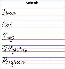 cursive worksheet generator free worksheets library download and