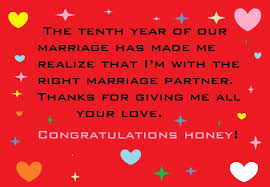 wedding wishes jokes happy 10th year wedding anniversary wishes and quotes wedding