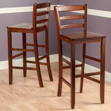 Ideas For Ladder Back Bar Stools Design Rustic Bar Stools With Backs Home Design And Decor Wooden Stool