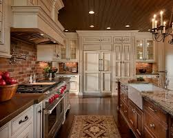 brick backsplash kitchen kitchen 17 ideas about faux brick backsplash on