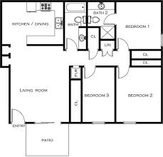 Parc Imperial Floor Plan Pacific Village Rentals San Diego Ca Apartments Com