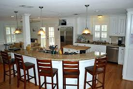 Kitchen Island With Table Seating Breathtaking Large Kitchen Island With Seating Kitchen Island