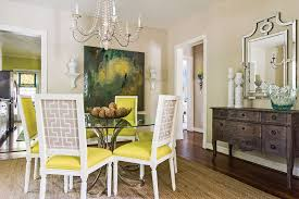 Southern Dining Rooms Blue Based Redesign Blends Traditional And Fresh Décor Southern