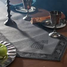 table runner of thrones table runners set of 3 thinkgeek