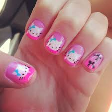 2013 cute cat acrylic nails best nail designs u2013 nail art gallery
