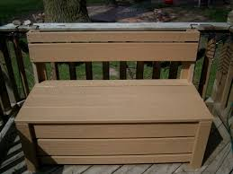 Outdoor Patio Storage Bench Plans by Diy Patio Storage Bench Inspiring Home Ideas