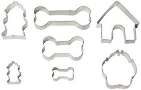 r m industries 1947 bone cookie cutters set of