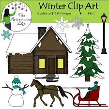 ring in the christmas season with this winter clip art freebie
