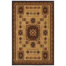 shaw accent rugs shop shaw living pueblo rectangular indoor woven area rug common