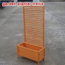 trellis planter 5ft trellis wood box planter quality wooden