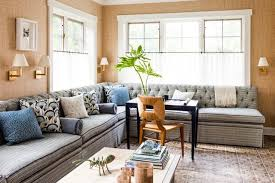 livingroom cafe how to use cafe curtains throughout your home apartment therapy