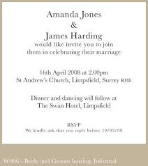exles of wedding program wording wedding invitations exles finding wedding ideas