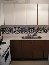 kitchen cabinet cover paper dollar store rental kitchen makeover dollar store crafts