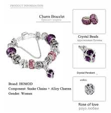 diy bracelet vintage images Spinner european style vintage silver plated crystal charm jpg