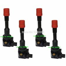 honda civic ignition coil aliexpress com buy 4 x rear ignition coil for honda civic 1 3