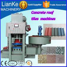 Concrete Roof Tile Manufacturers Concrete Roof Tile Manufacturing Machines Hydraulic Roof Tile