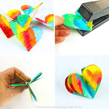 3d paper s day craft decoration ted s
