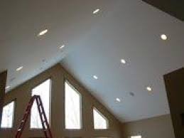 Installing Can Lights In Ceiling Pretty Design Vaulted Ceiling Can Lights Installing Recessed