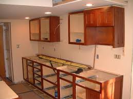 how to install kitchen base cabinets home design ideas - how to install kitchen cabinets