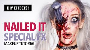 nailed it special fx makeup and prop tutorial youtube