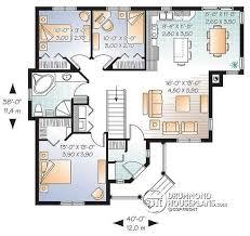 bungalow open floor plans bold idea open floor plans for bungalows 4 house plan w3133 detail