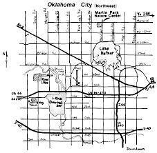 Okc Map Stinchcomb Wildlife Refuge