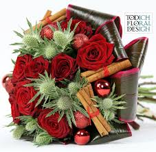 the cheery business of christmas floral arrangements from todich