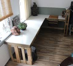 Moderner Schreibtisch Schreibtisch Selber Bauen 55 Ideen Freshouse