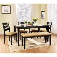 Dining Room Bench Sets Oak Kitchen Table And Bench Set Best Ideas Black Dining Room With