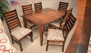 Amish Dining Tables Amish Dining Table And Chairs Chairdsgn Com