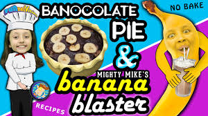 Halloween Movies For Kids On Netflix Lexi U0027s Banocolate Pie U0026 Mike U0027s Mighty Banana Blaster Dessert