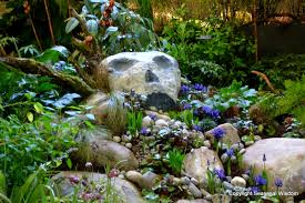 rocks in garden design lendro plan rock garden ideas for shade areas here
