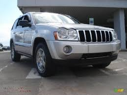silver jeep grand cherokee 2006 2006 jeep grand cherokee limited 4x4 in bright silver metallic