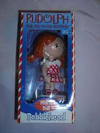 rudolph red nosed clarice reindeer bobblehead figures