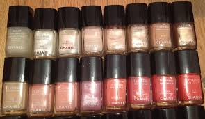 the beauty of life my chanel nail polish collection 44 bottles